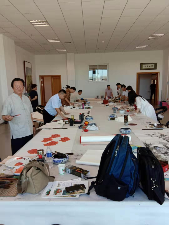 庆祝建国70周年,北京·河曲书画艺术联赛(图2)